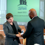 Magamed Abubakarov receives Lawyers for Lawyers Award